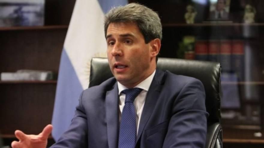 El gobernador de San Juan, Sergio Uñac, junto al CEO de Vinventions, Marc Nöel