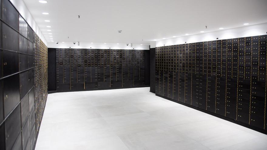 Cajas de seguridad en instalaciones de INGOT.