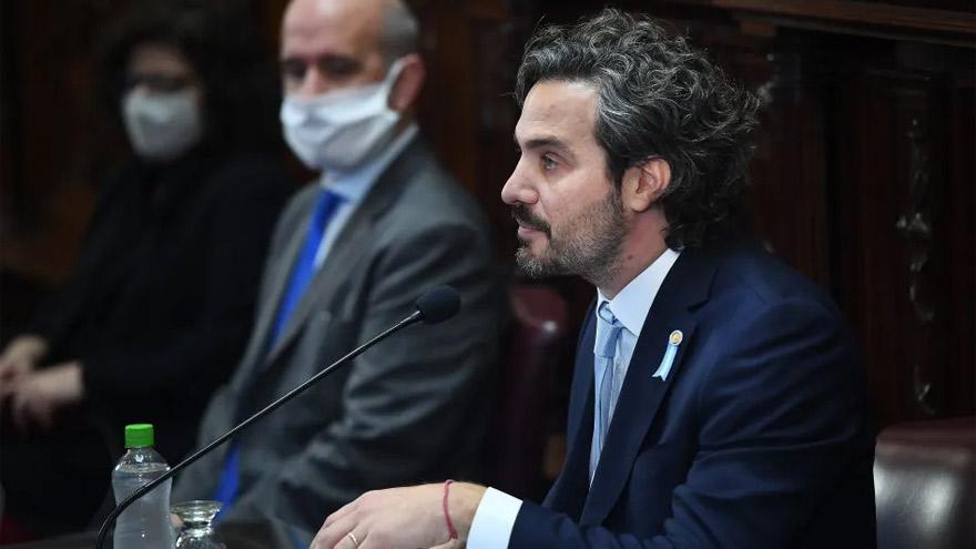 Santiago Cafiero, jefe de Gabinete de Alberto Fernández.