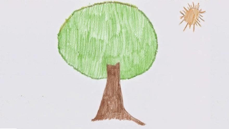 La forma en que las personas dibujan el árbol dice mucho sobre la personalidad