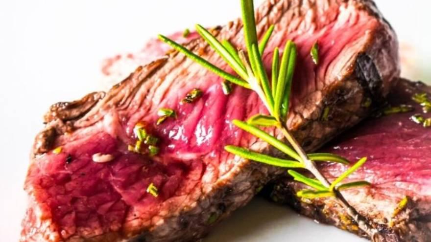 El exceso de carne roja puede perjudicar la salud