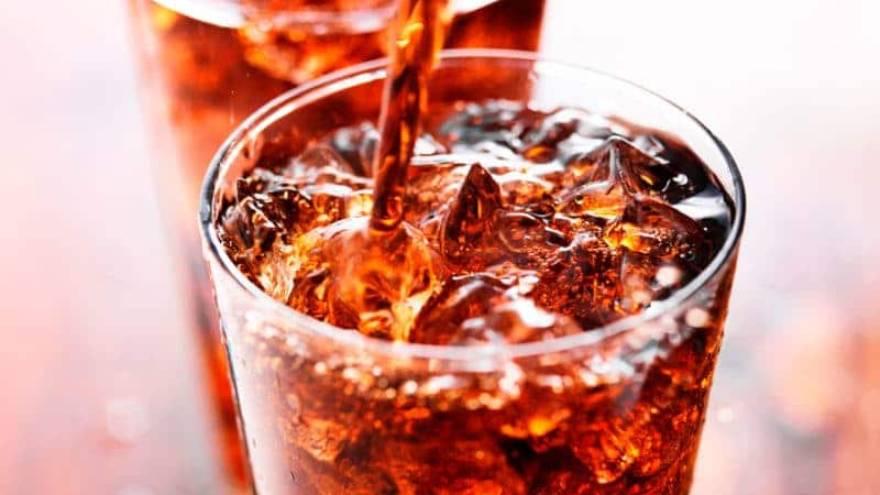 Las gaseosas contienen una gran cantidad de azúcar