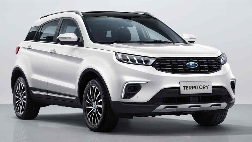 Territory, una de las últimas novedades de Ford.