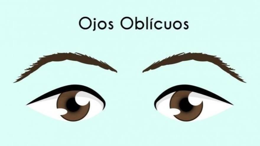 7. Ojos oblicuos