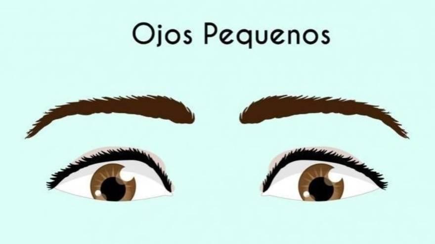 6. Ojos pequeños