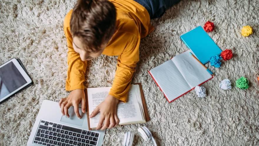 Los niños también pueden aprender con cursos de online gratis