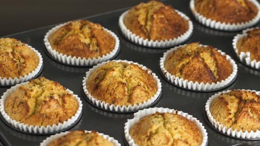Los muffins y otros productos con harina pueden ser parte de desayunos saludables