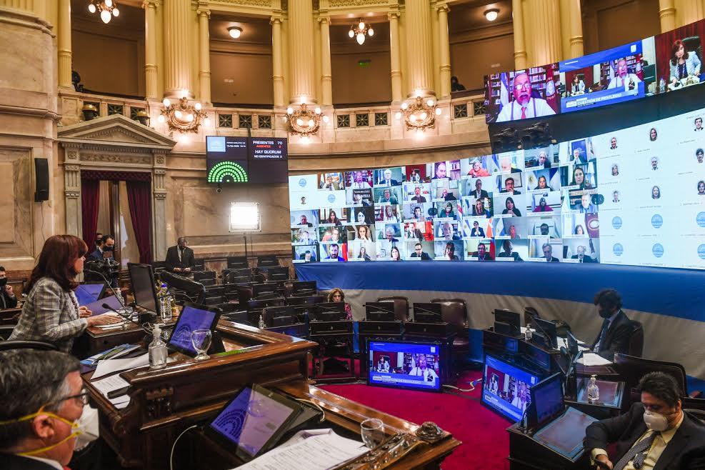 La ampliación de la moratoria se convirtió en ley por 41 votos a favor contra 28 negativos