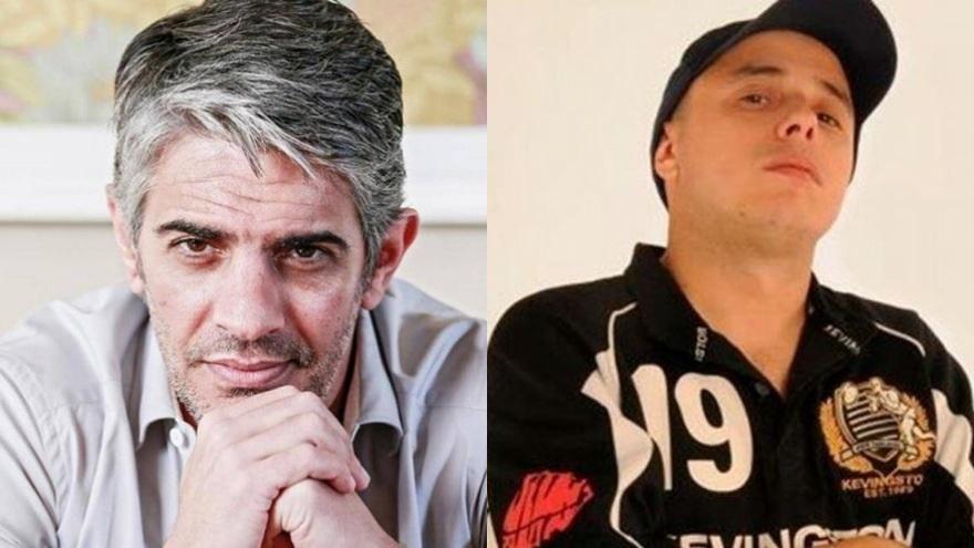 Uno de los enfrentamientos que tuvo El Dipy en Twitter fue con pablo Echarri