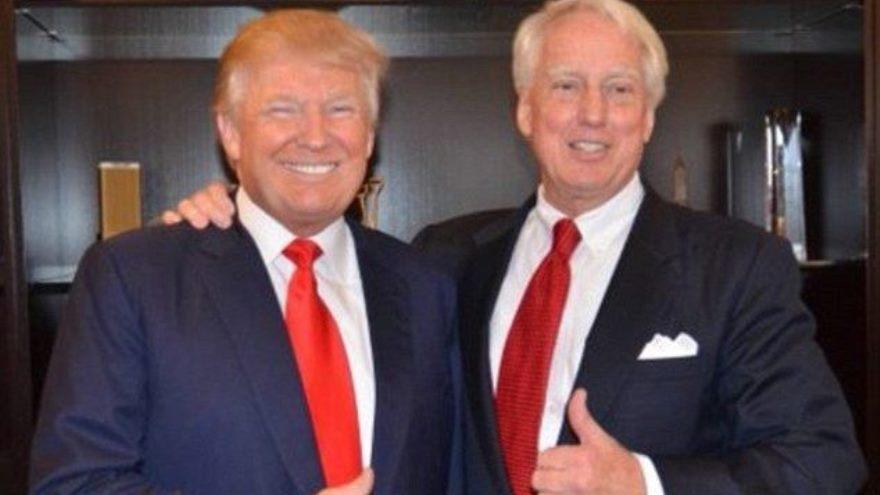 El hermano del presidente de Estados Unidos está internado