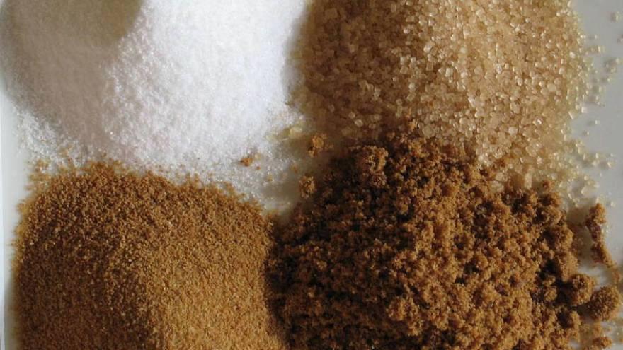 Estos son los cuatro tipos de azúcar