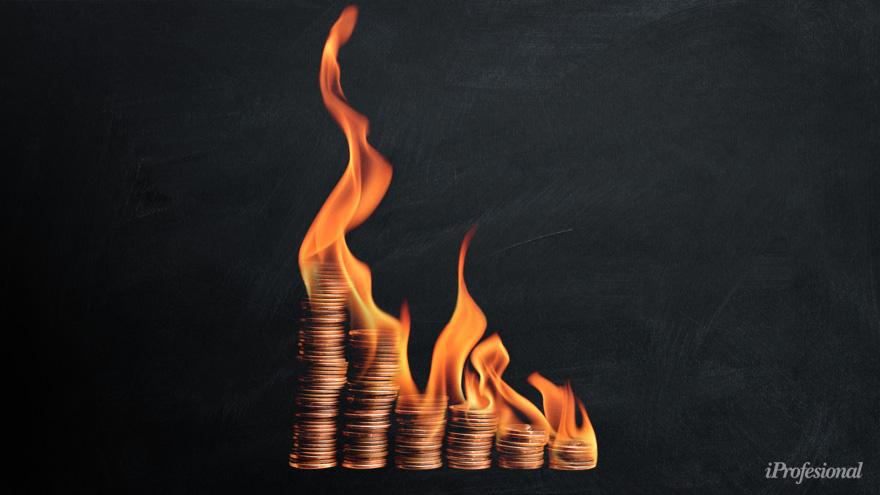 Por las ventas de divisas, las reservas netas perforaron los u$s10.000 millones en agosto