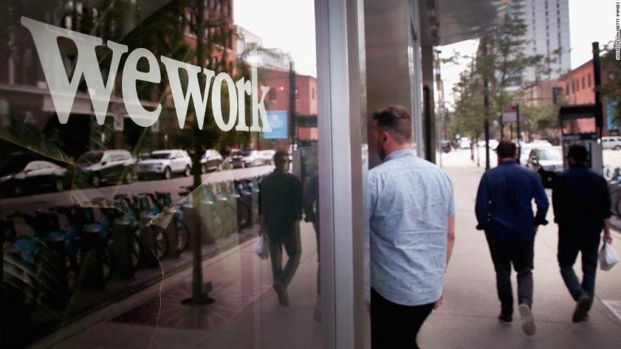 Wework fue una de las compañías que redujo fuertemente la ocupación de oficinas.