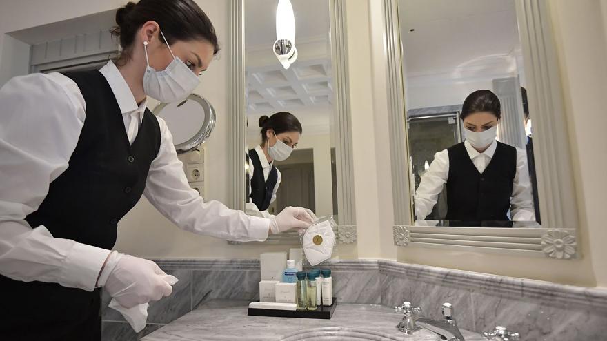 Más del 90 por ciento de los hoteles cayó en la parálisis a partir de la pandemia.