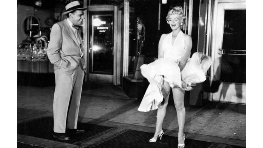 Películas en línea: Marilyn en el rodaje de Con faldas y a lo loco