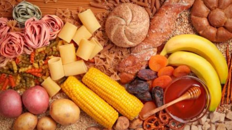 Hay tres tipos de carbohidratos