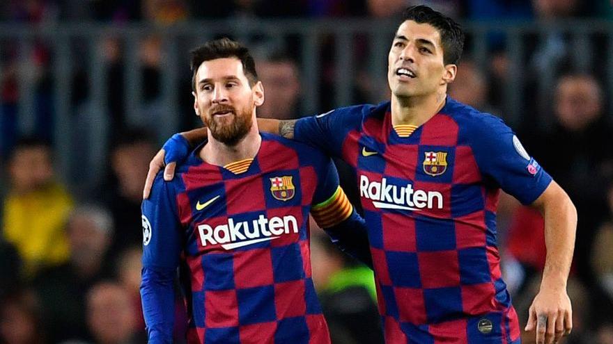 Messi anunció que se queda en Barcelona. Luis Suárez también continuaría