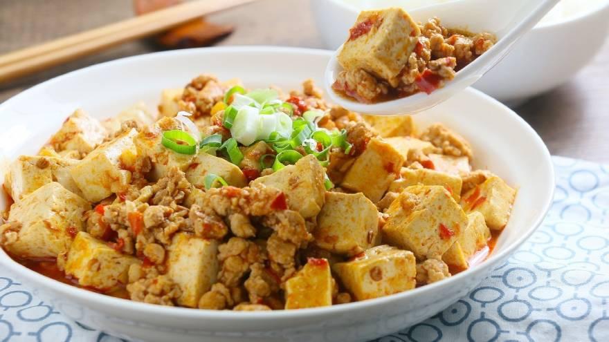 El tofu es un alimento que consumen mucho en Okinawa