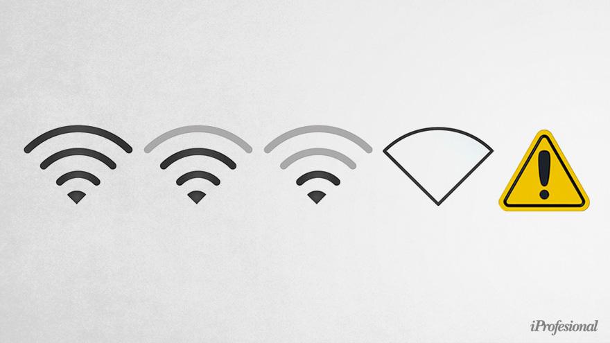 Conviene hacer un mapa que registre cómo es la velocidad de Internet según el ambiente del hogar.