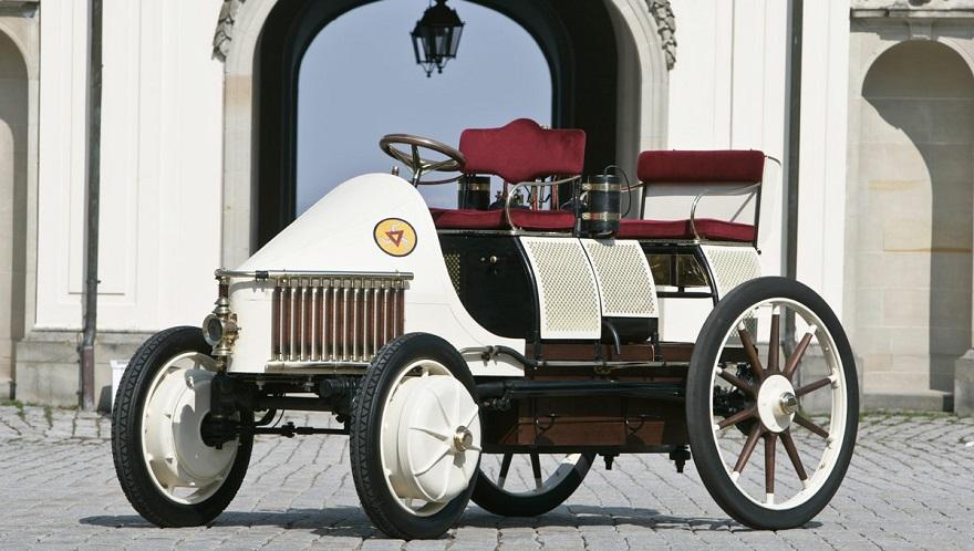 Autos antiguos: el primer híbrido de la historia.