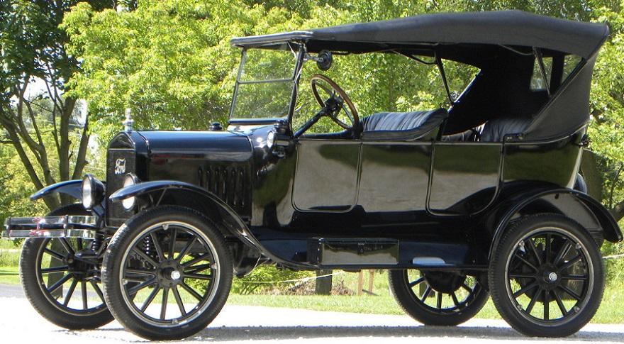 Ford T, uno de los autos antiguos más recordados.