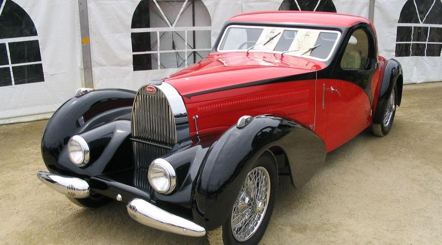 Bugatti, entre los autos antiguos más exitosos.