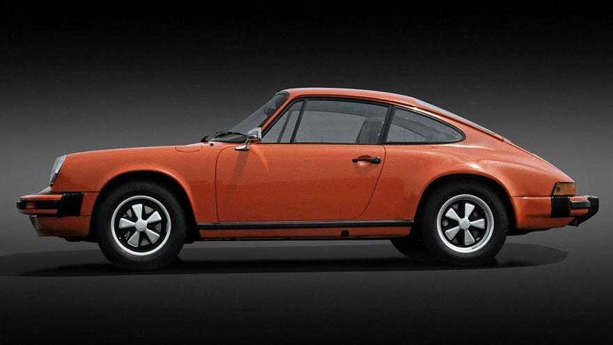 Porsche 911, los autos antiguos más exitosos.