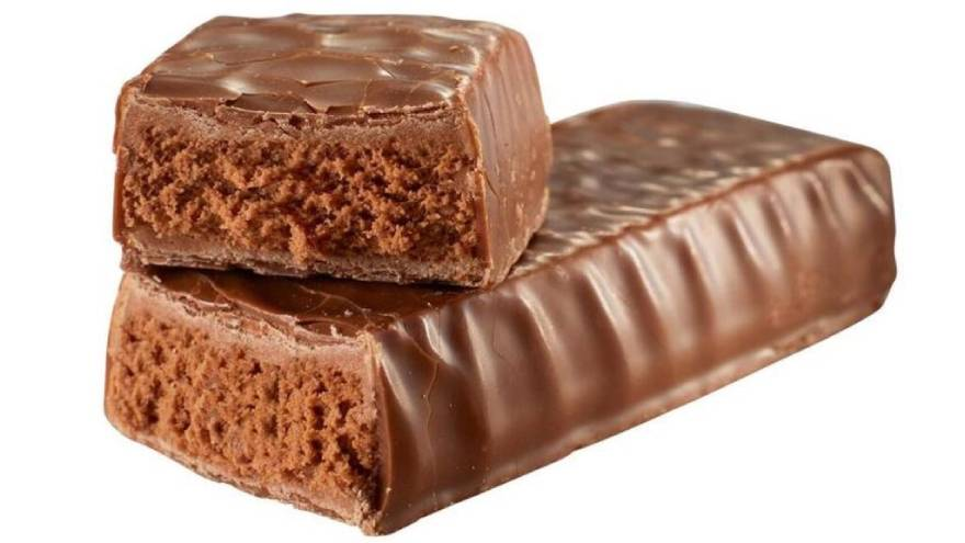 Las barras de proteína vienen en distintos sabores