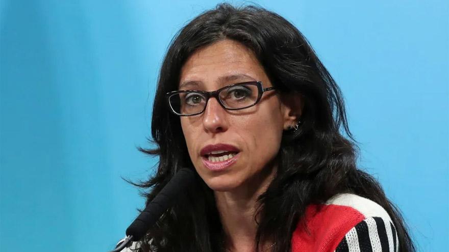 La secretaria de comercio interior, Paula Español, se encargó personalmente de monitorear el arranque del plan de cortes cárnicos baratos