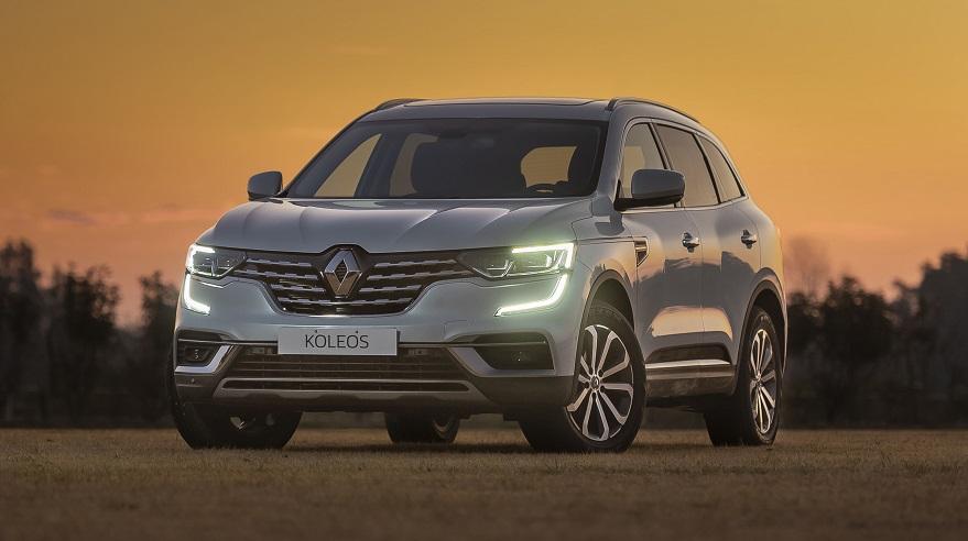 Renault Koleos, en su única versión con impuesto interno.