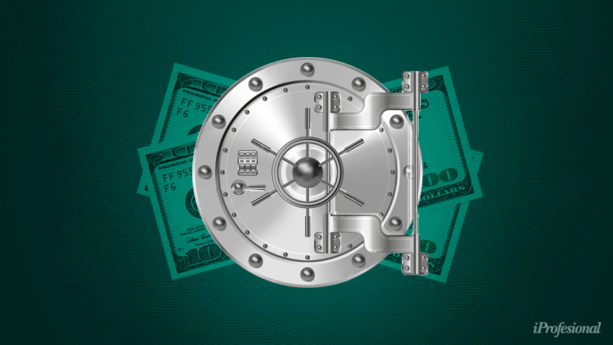 Las reservas del Banco Central ya han perdido $ 1.239 millones al mes