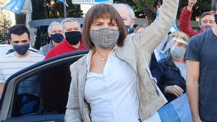 Patricia Bullrich confirmó su presencia en la marcha opositora