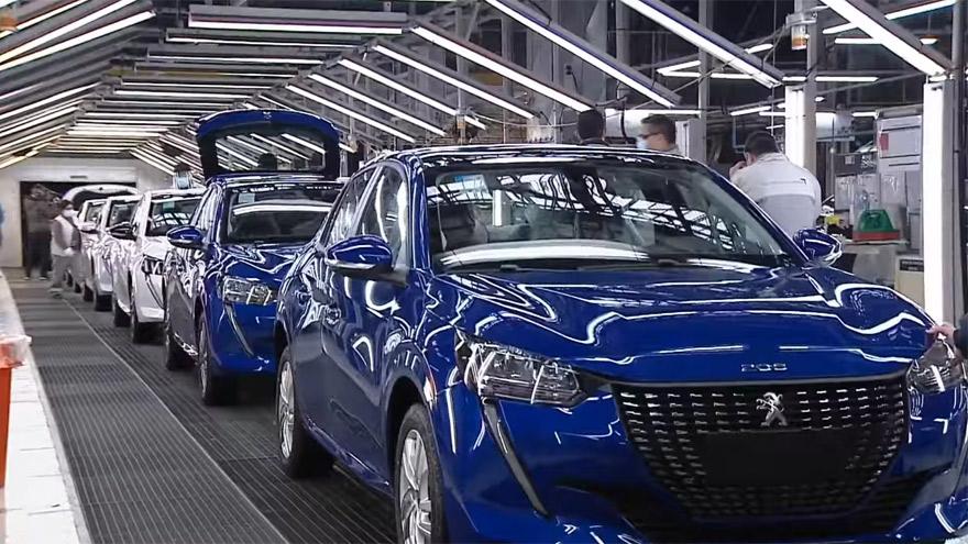 Peugeot 208, fabricado en El Palomar.
