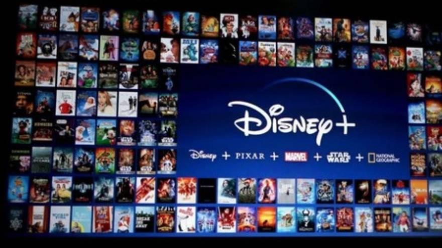 Muchas de las películas de Disney se estrenaron a través de Disney +