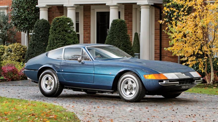 Este es el Ferrari Daytona