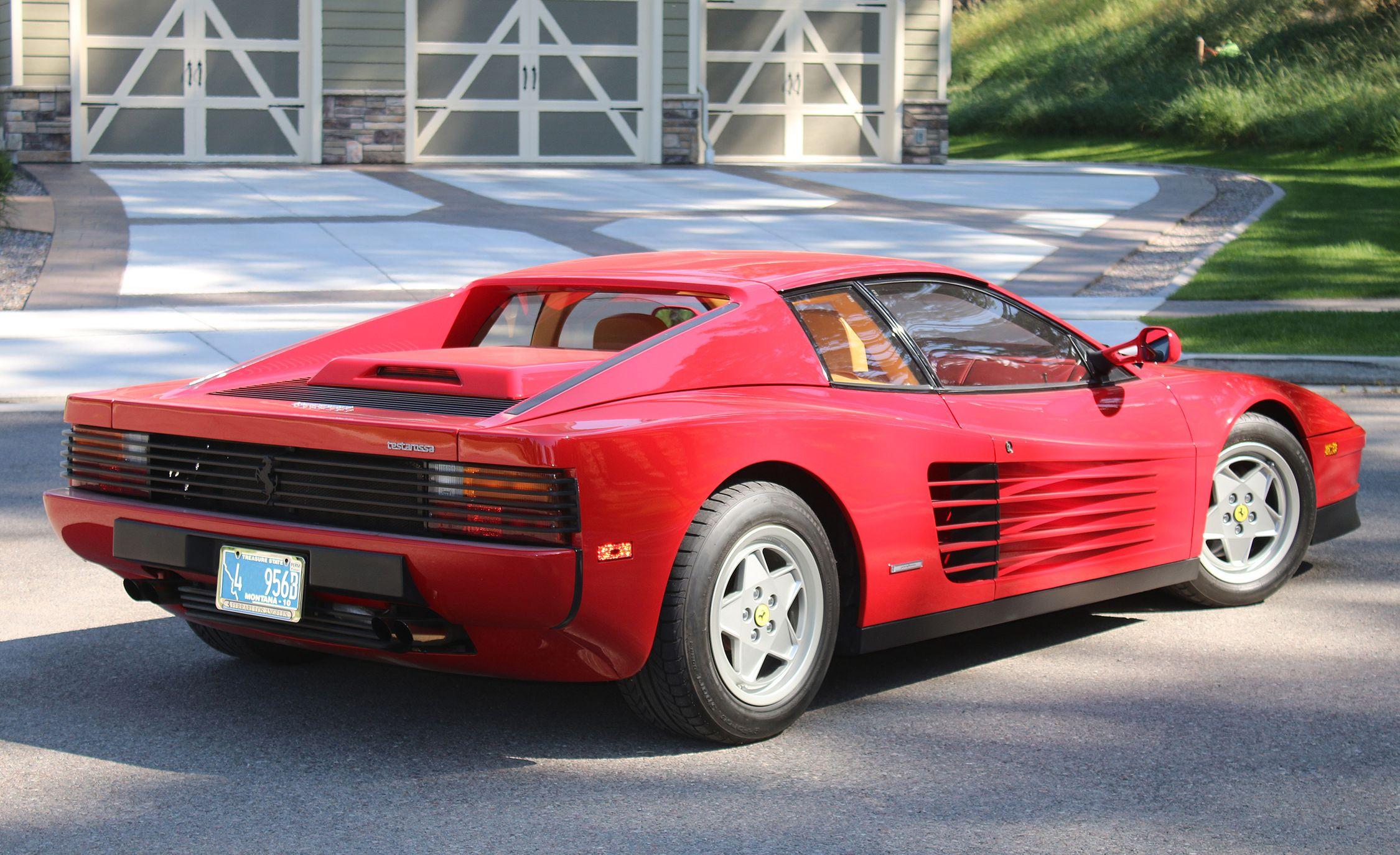 Esta es la Ferrari Testarossa