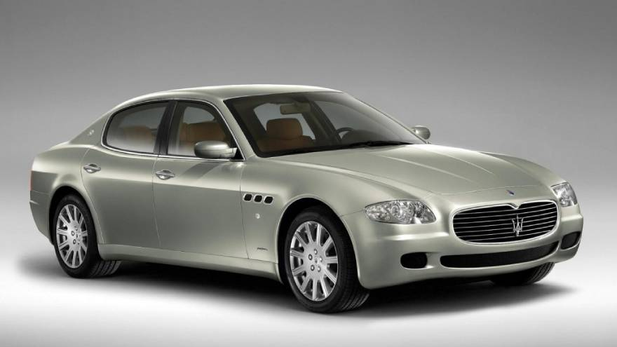 La quinta generación de este auto fue diseñada por Pininfarina