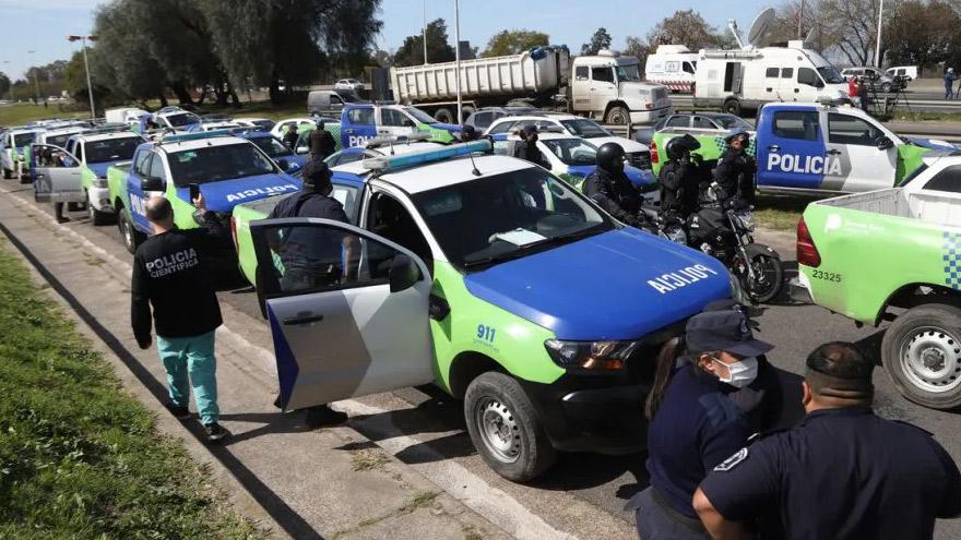 La protesta policial, epicentro de la crisis del gobierno