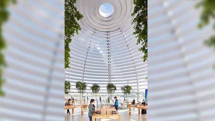La nueva tienda de Apple en Singapur será inaugurada este jueves