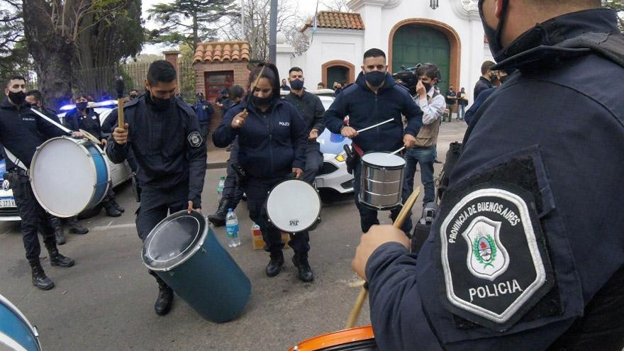Berni consideró que la protesta policial que tuvo lugar en la Quinta de Olivos