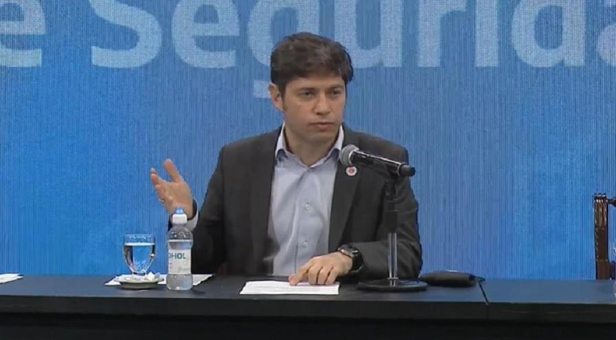 Kicillof reconoció que los problemas de la provincia con el ingreso de recursos federales lleva años, aunque se cuidó de no mencionar la etapa de Cristina Kirchner