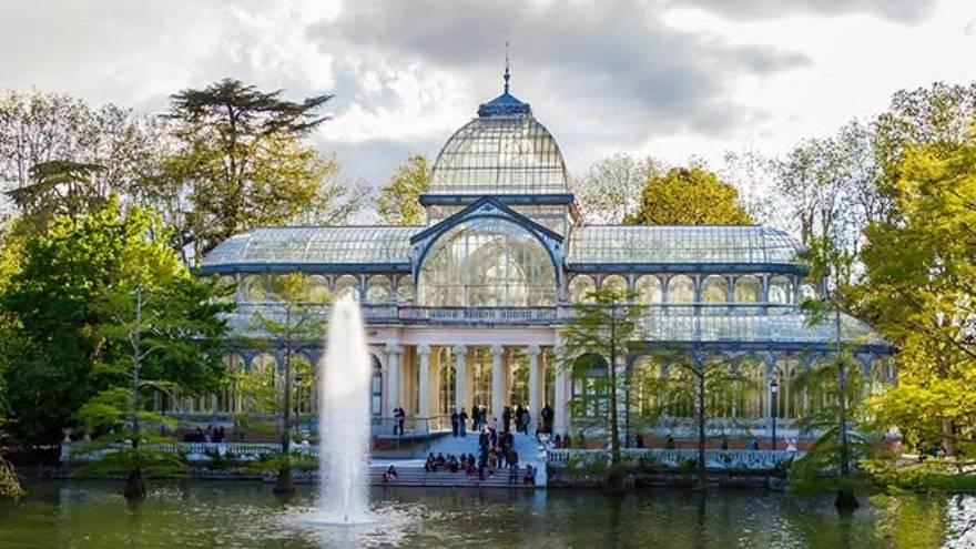 El Parque del Retiro, en la Ciudad de Madrid