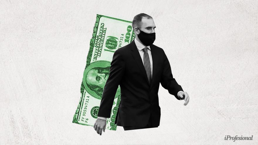 ¿El dólar seguirá el rumbo marcado por Guzmán? Cautela entre los analistas.
