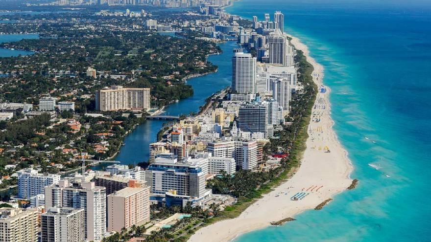 Miami, vista de arriba