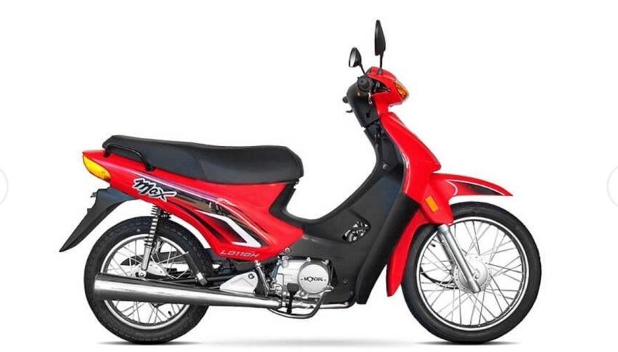 La Mondial LD110 MAX, disponible en distintas variantes.