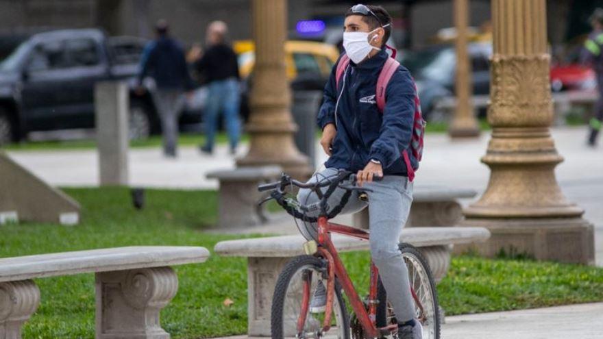 El uso de la bicicleta creció en la pandemia.