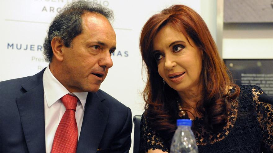 Daniel Scioli y Cristina Kirchner: una relación tormentosa que llevó a la licuación de fondos para la provincia de Buenos Aires