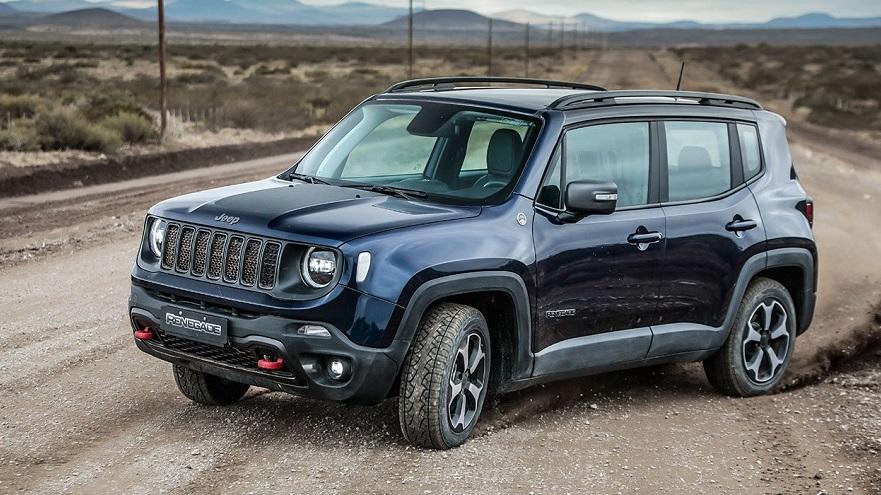 Jeep Renegade, uno de los que más creció en ventas.