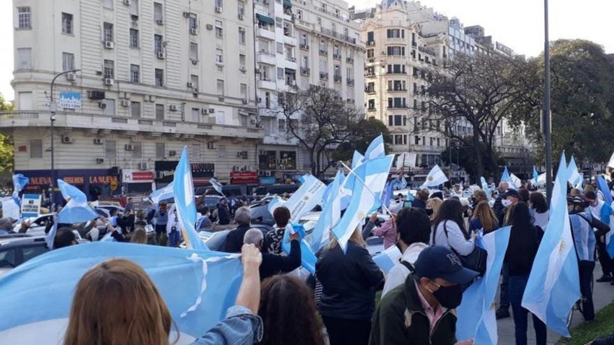 La nueva jornada de protesta le dio pie a Macri para vincular ese movimiento con la campaña del