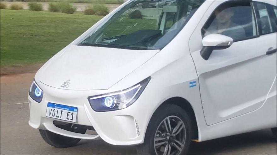 El modelo urbano eléctrico VOLT e1 tendrá un precio desde $1.680.000 en su versión